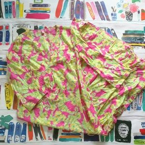 Lilly Pulitzer Limeade Floaters Josie Maxi Dress M
